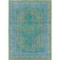 Surya Zahra Classic 8' x 11' Area Rug in Blue/Green
