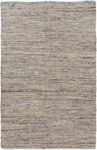 Surya Adobe 3'6 x 5'6 Area Rug in Neutral/Blue