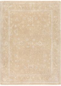 Surya Transcendant 8'6 x 11'6 Hand Knotted Area Rug in Beige/Khaki