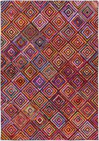 Surya Boho Modern 8' x 11' Area Rug in Bright Purple
