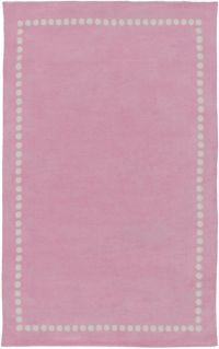Surya Abigail Classic 2' x 3' Accent Rug in Bright Pink