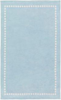 Surya Abigail Classic 2' x 3' Accent Rug in Pale Blue/Cream