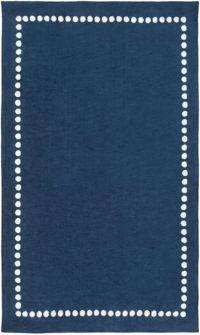 Surya Abigail Classic 5' x 8' Area Rug in Navy/Cream
