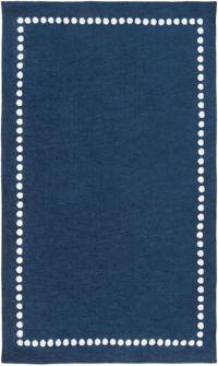 Surya Abigail Classic 2' x 3' Accent Rug in Navy/Cream