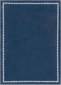 Surya Abigail Classic 8' x 11' Area Rug in Navy/Cream