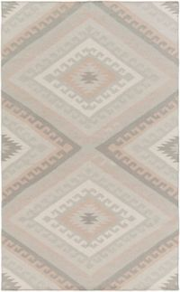 Surya Wanderer Southwest 2' x 3' Accent Rug in Ivory