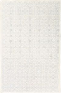 Surya Adeline Medallion 6' x 9' Area Rug in Pale Blue