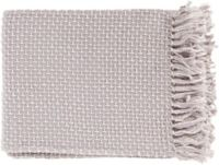 Surya Tierney Throw Blanket in Lilac/White
