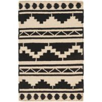 Surya Frontier Southwest 2' x 3' Accent Rug in Taupe/Black