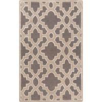 Surya Modern Classics Moroccan Trellis 9' x 13' Area Rug in Cream/Grey