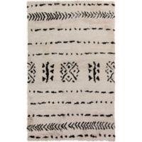 Surya Denali 5' x 8' Hand-Knotted Area Rug in Khaki/Black