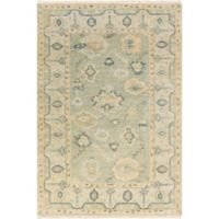 Surya Hillcrest 3'6 x 5'6 Area Rug in Dark Green