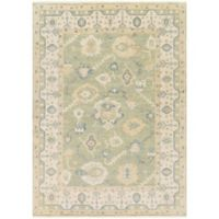 Surya Hillcrest 8' x 11' Area Rug in Dark Green