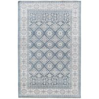 Surya Cappadocia Vintage-Inspired 5'6 x 8'6 Area Rug in Navy/Grey