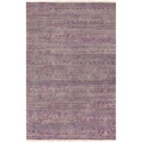 Surya Cheshire Classic 5'6 x 8'6 Hand-Knotted Area Rug in Bright Purple