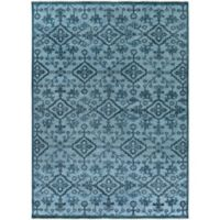 Surya Cappadocia Vintage-Inspired 8' x 11' Area Rug in Denim/Navy