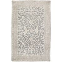 Surya Cappadocia Vintage-Inspired 7'9 x 9'9 Area Rug in Charcoal