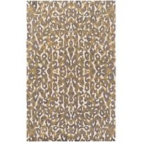 Surya Geology Casual 4' x 6' Area Rug in Brown/Tan