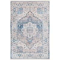 Surya Ephesians Vintage 5' x 7' 9 Area Rug in Blue/Grey