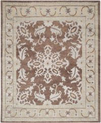 Safavieh Jamie 5' x 8' Hand-Knotted Area Rug in Yellow
