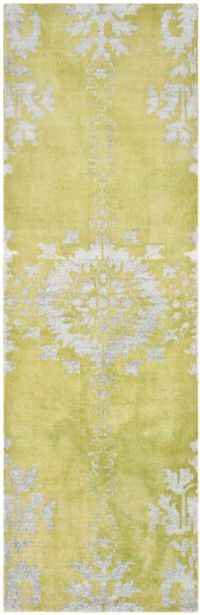 Safavieh Jamie 9' x 12' Hand-Knotted Area Rug in Yellow