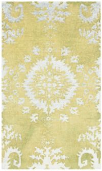 Safavieh Stone Wash 3' x 5' Kay Rug in Chartreuse