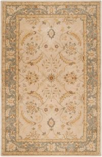 Surya Clifton Classic Traditional 9' x 13' Handcrafted Area Rug in Neutral/Grey