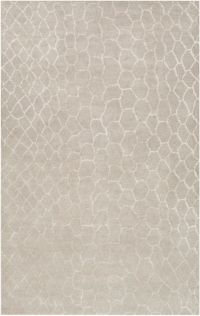 Surya Moderne Animal 3'3 x 5'3 Hand-Tufted Area Rug in Beige
