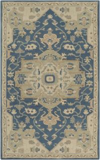 Surya Caesar Classic 10' x 14' Area Rug in Navy/Ivory