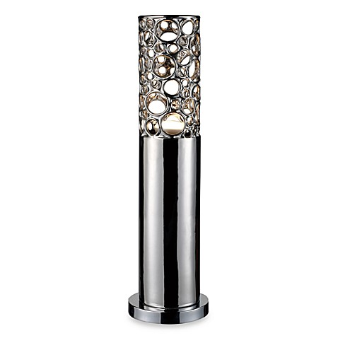 Dimond Lighting Roeder Alisa Silver Table Lamp