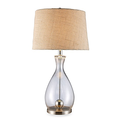 Dimond Lighting Longport Clear Glass and Chrome Table Lamp