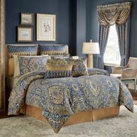 Croscill® Allyce Queen Comforter Set in Blue