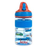 Nuby™ 12 fl. oz. Flip-it Freestyle Hard Straw Sippy Cup in Blue