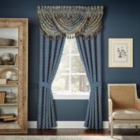 Croscill® Allyce 84-Inch Window Curtain Panel Pair in Blue