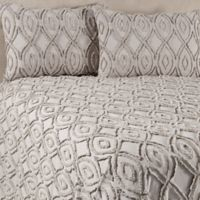 Anthology™ Tufted and Looped Full/Queen Bedspread Set in Light Grey