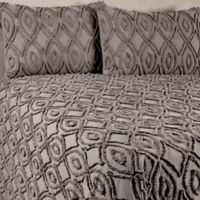Anthology™ Tufted and Looped Full/Queen Bedspread Set in Steel Grey