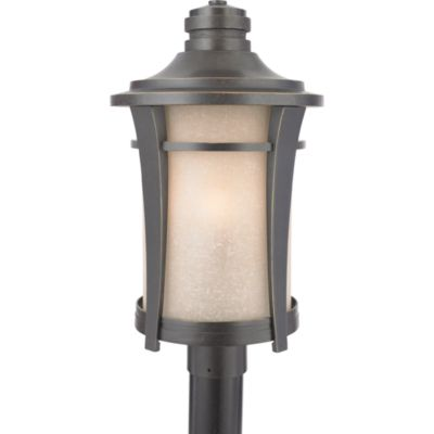 quoizel harmony 3light outdoor post fixture in imperial bronze