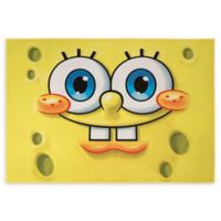 Spongebob Squarepants Face 4'6 x 6'6 Area Rug