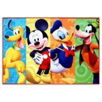 Disney® Mickey Mouse Club House 4'6 x 6'6 Area Rug