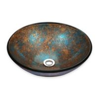 ANZZI™ 16.5-Inch Stellar Vessel Sink in Emerald Burst