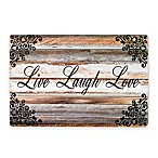 """Live Laugh Love"" Laminate Placemats (Set of 4)"