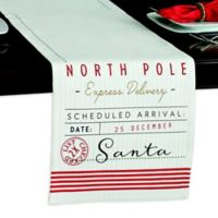 North Pole 90-Inch Reversible Table Runner