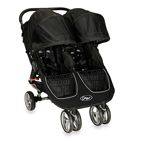 Baby Jogger® City Mini Double Stroller in Black