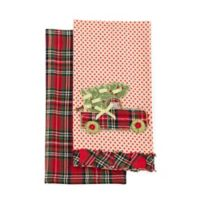 Country Christmas Kitchen Towels (Set of 2)