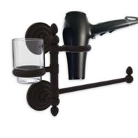 Allied Brass Que New Hair Dryer Holder and Organizer in Oil Rubbed Bronze