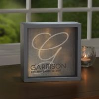 Accent 6-Inch x 6-Inch LED Light Shadow Box