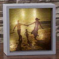 Photo 6-Inch x 6-Iinch LED Light Shadow Box