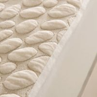 Pebbletex Cotton Full Mattress Protector in White
