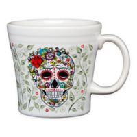 Fiesta® Halloween Sugar Skull Tapered Mug in White