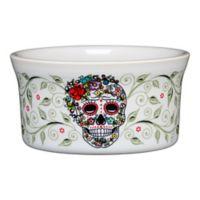 Fiesta® Halloween Sugar Skull Ramekin in White